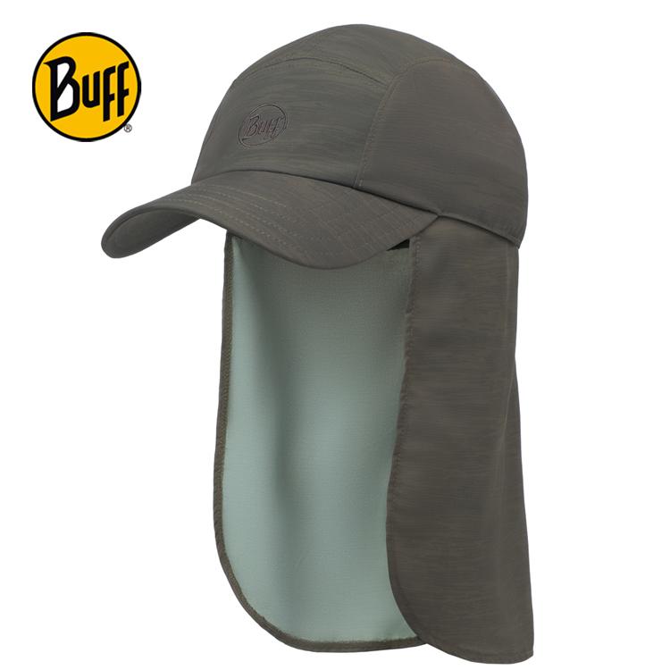 【西班牙 BUFF】洗舊墨綠可拆式護頸帽