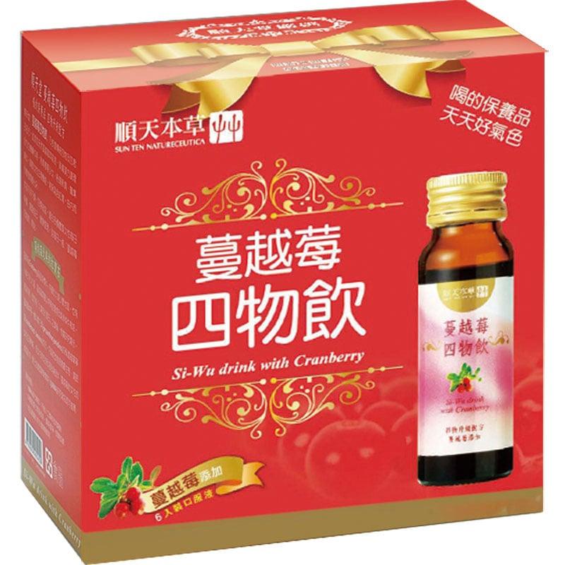 順天本草【蔓越莓四物飲】6入/盒