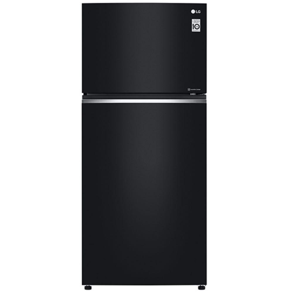 LG樂金525L直驅變頻上下門冰箱/ 時尚黑 GN-HL567GB