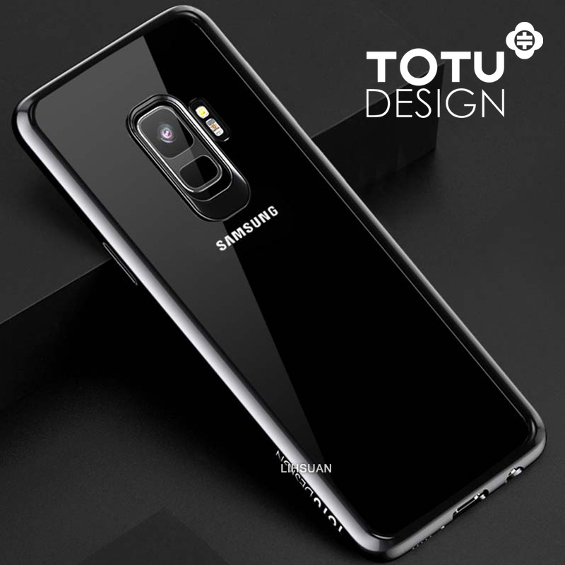 【TOTU台灣官方】晶彩系列 S9手機殼 黑色