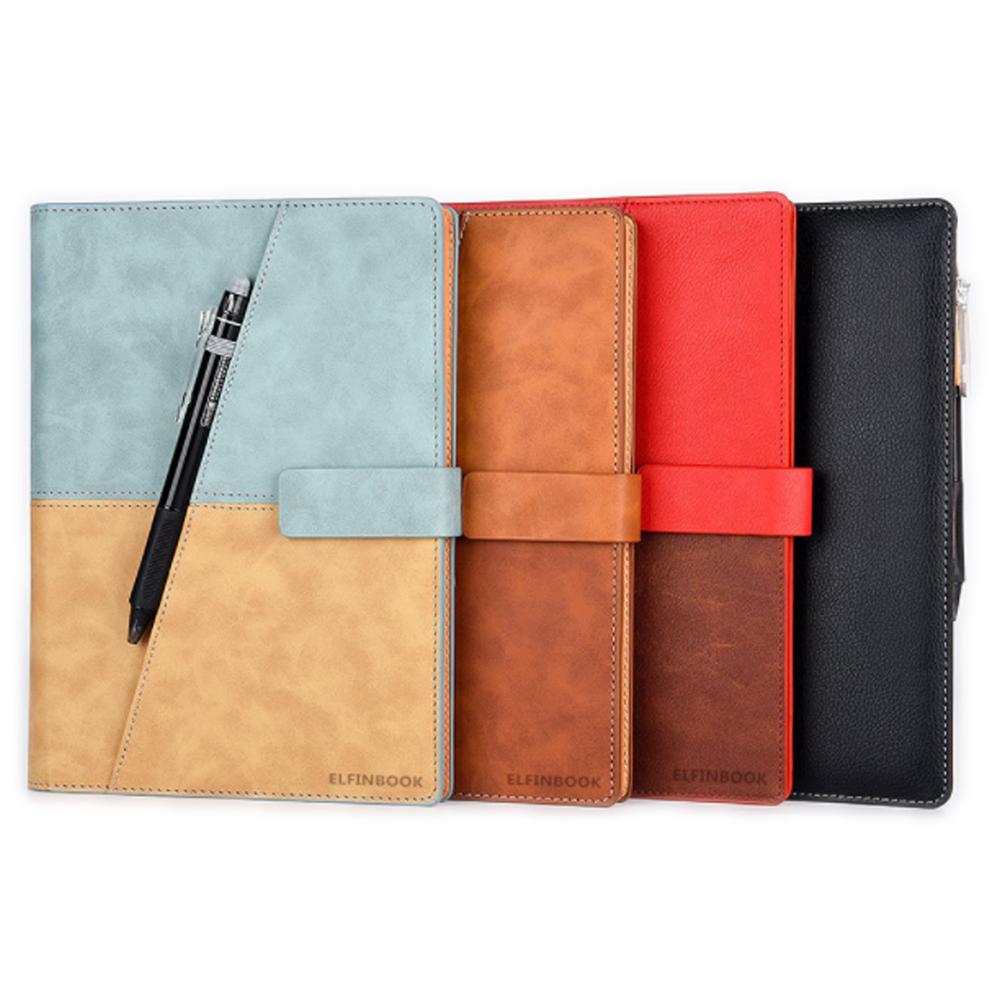 Elfinbook X 可重複書寫精裝筆記本(含筆)(棕色)