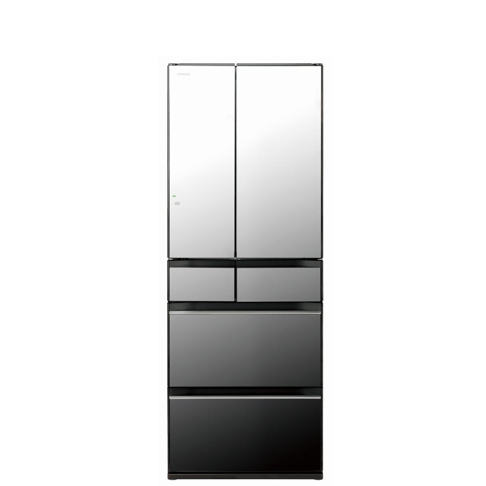回函贈日立527公升六門-琉璃(與RHW530NJ同款)冰箱X琉璃鏡RHW530NJX