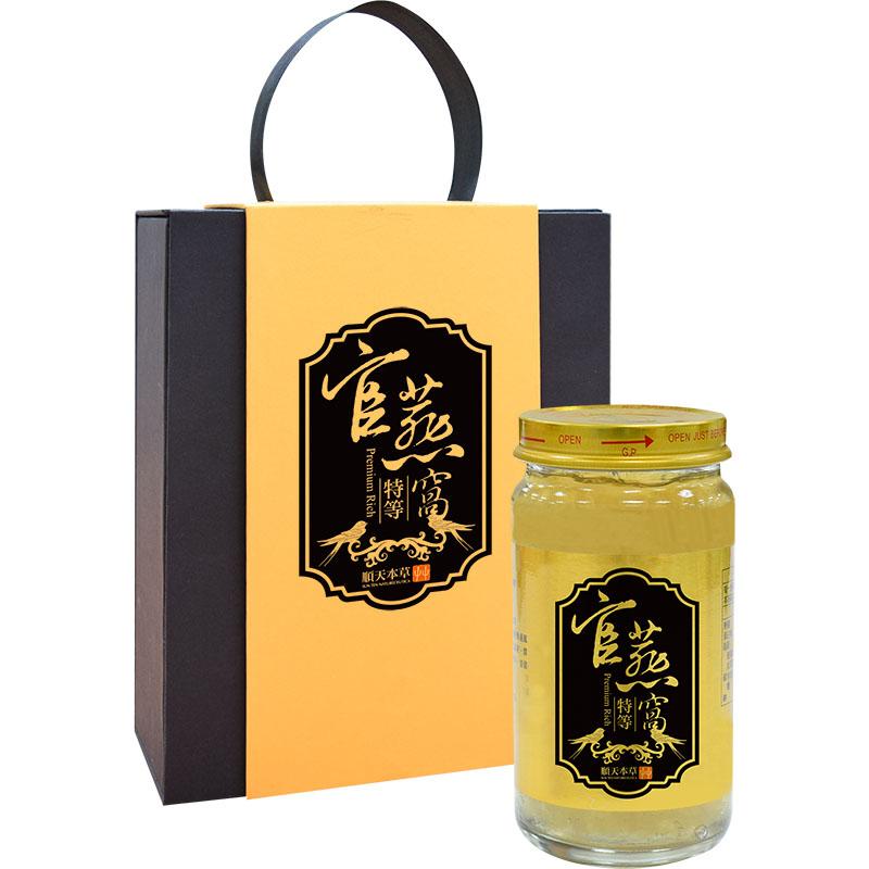 順天本草-【順天特等官燕窩禮盒】150g /瓶