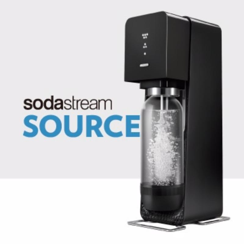 英國Sodastream-Source Plastic氣泡水機(黑)