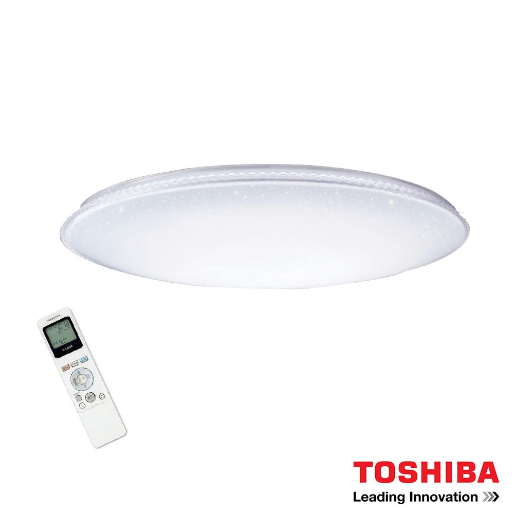 TOSHIBA RGB星光 77W LED 調光/調色美肌吸頂燈T77RGB12-S