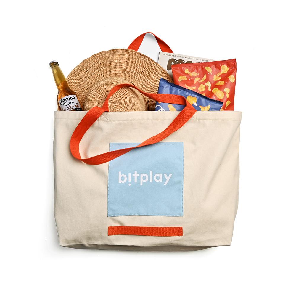 bitplay Oversize Tote Bag 超大容量托特包-夏日撞色款
