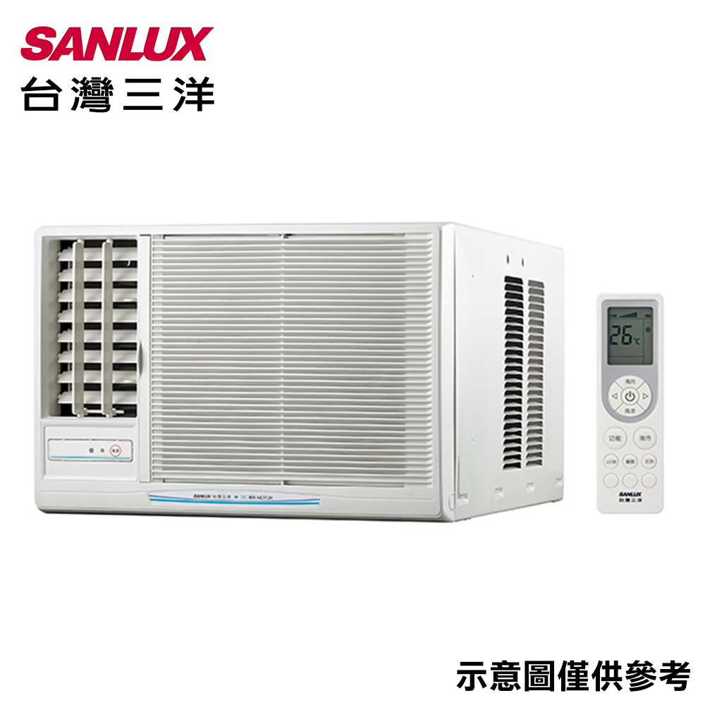 【SANLUX三洋】7-9坪窗型定頻左吹冷氣SA-L50FEA