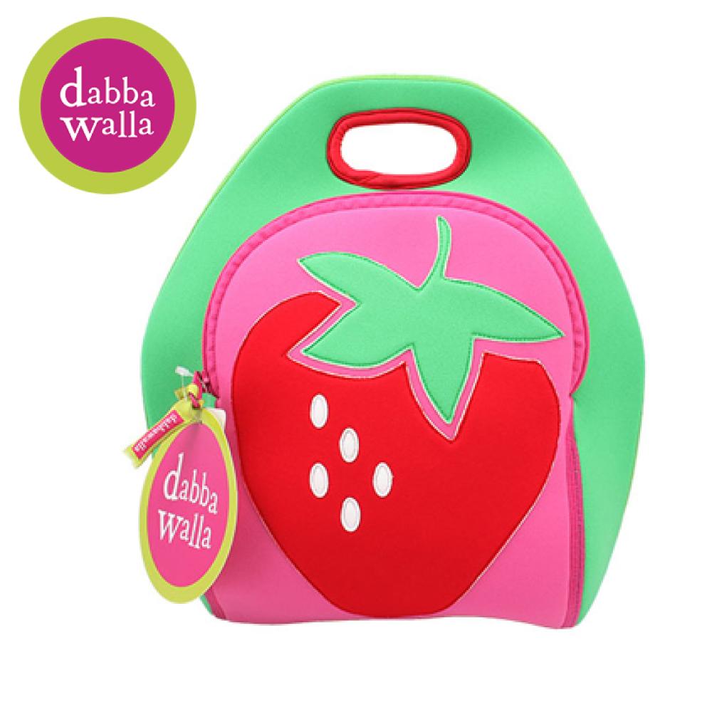 美國Dabbawalla瓦拉包 -草莓兒童手提包