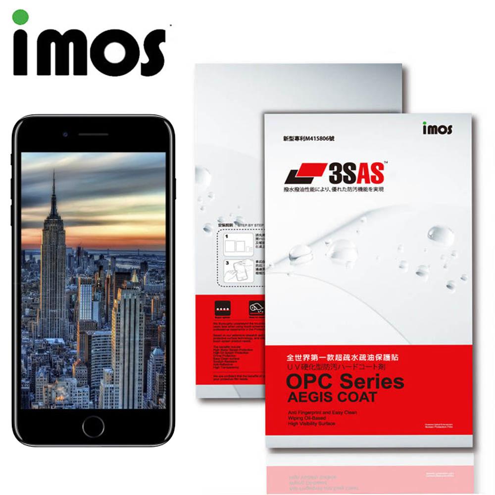 iMos APPLE iPhone 8 Plus 3SAS 疏油疏水 螢幕保護貼