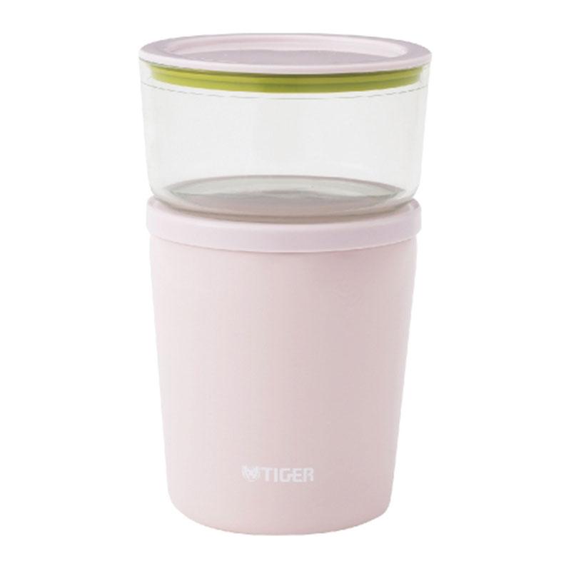 TIGER虎牌 300cc不鏽鋼真空食物罐(LCC-A030浪漫粉)