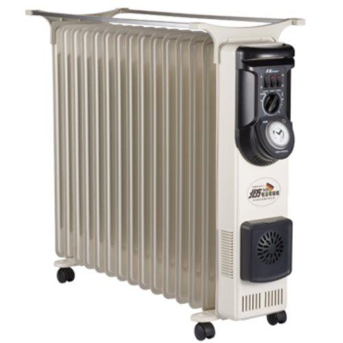 北方葉片式恆溫15葉片電暖器NA-15ZL