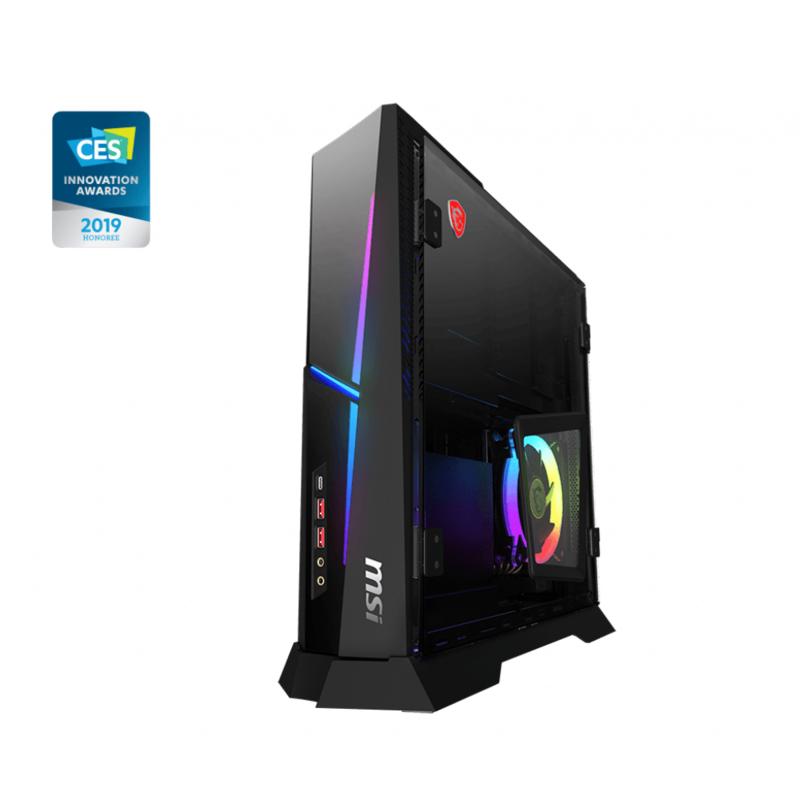 【MSI 微星】Trident X Plus 9SC-209TW 電競桌機(i7-9700K/16G/1T+512G SSD/RTX2060 6G/Win10)
