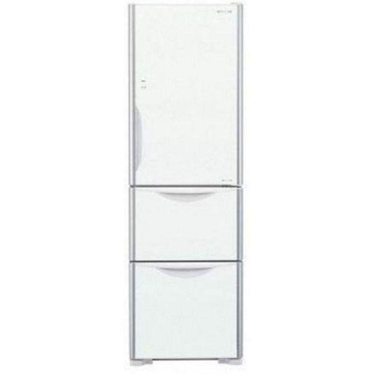 【HITACHI 日立】 394公升變頻三門電冰箱 RG41B/GPW 琉璃白