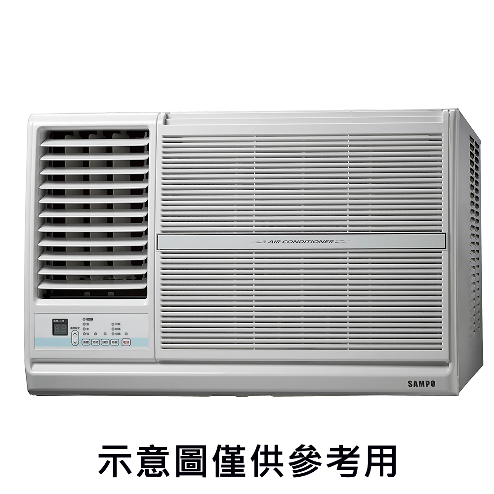 SAMPO聲寶 6-8坪定頻左吹窗型冷氣AW-PC41L