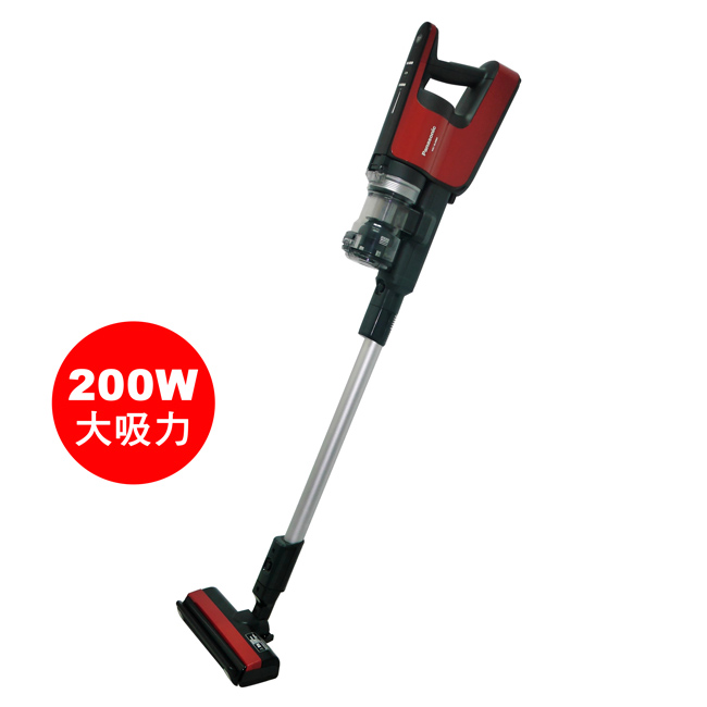 【Panasonic國際牌】日本製直立無線吸塵器(紅色) MC-BJ980-R