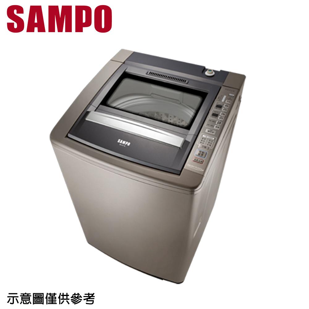 【SAMPO聲寶】17公斤好取式定頻單槽洗衣機ES-E17B(K2)