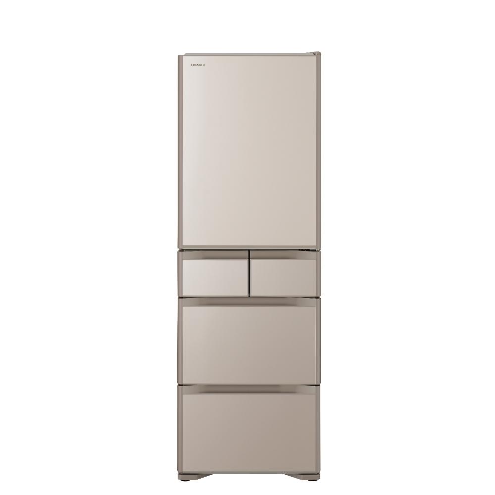 日立407公升五門(與RSG420J同款)冰箱XN琉璃金RSG420JXN