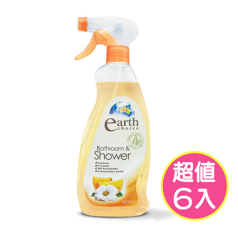 【澳洲Natures Organics】植粹浴室清潔劑600mlx6入