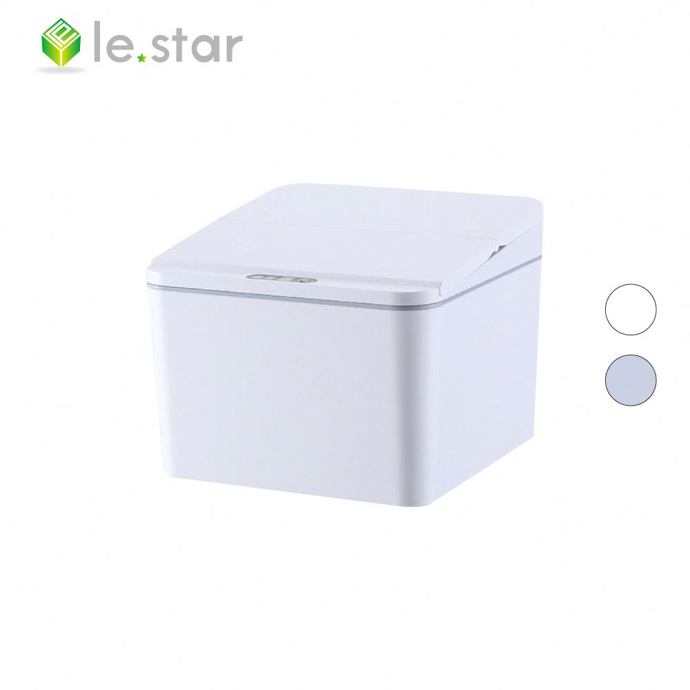 lestar 多用途紅外線感應式垃圾桶-充電版 4L 白色