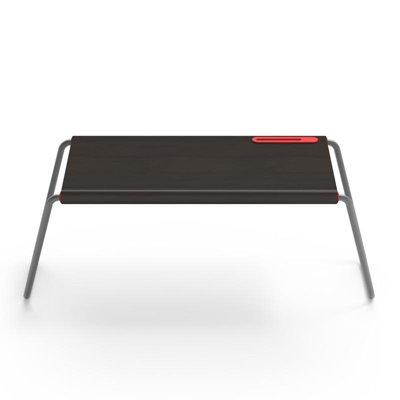 MONITORMATE PlayTable 木質多功能行動桌板 - 黑色