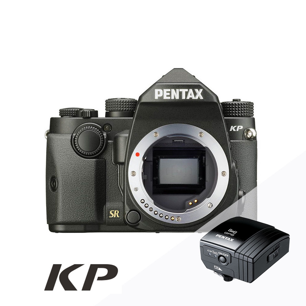 [星空加購組]PENTAX KP 防滴防塵-單機身_黑色【公司貨】+O-GPS1 (註冊送星空包+電池手把)