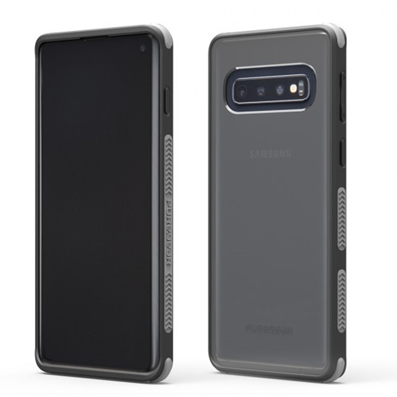 Puregear DUALTEK坦克透明保護殼 Samsung Galaxy S10 PLUS/S10+(黑框)