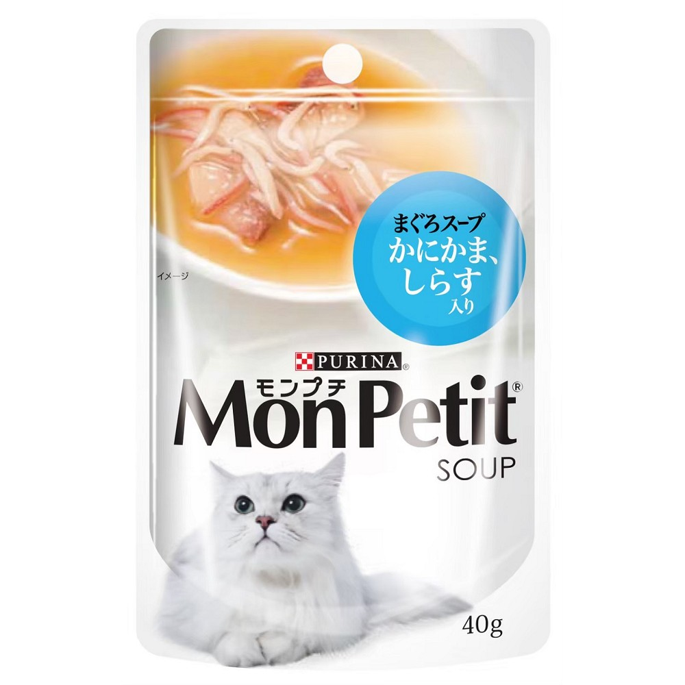 MonPetit貓倍麗湯包 40g 48入 銀魚極品鮮湯