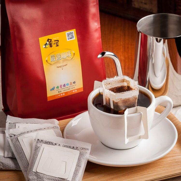 《蜂屋》曼特寧濾泡咖啡,環保裸裝包(20入)