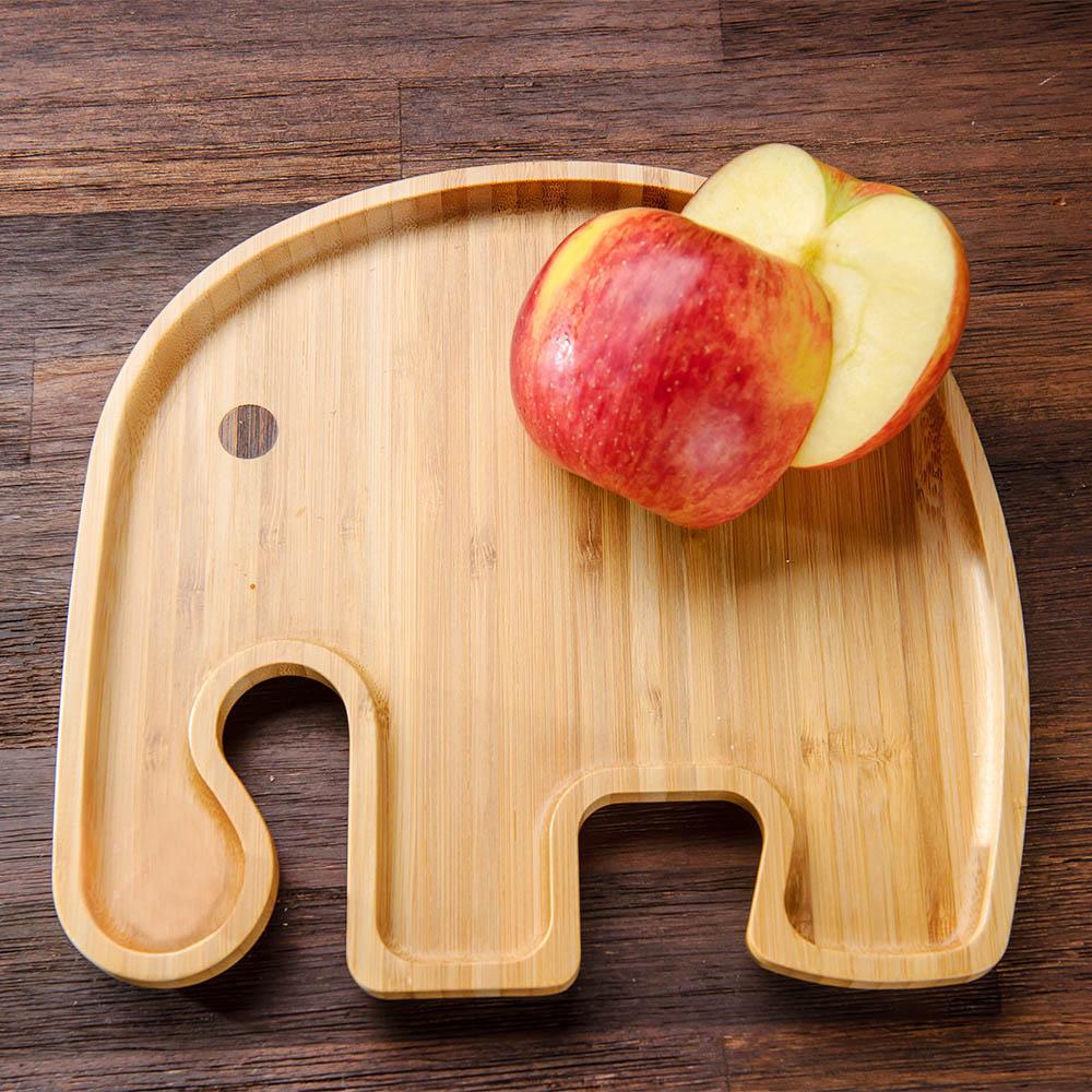 Natural動物餐盤-大象-生活工場