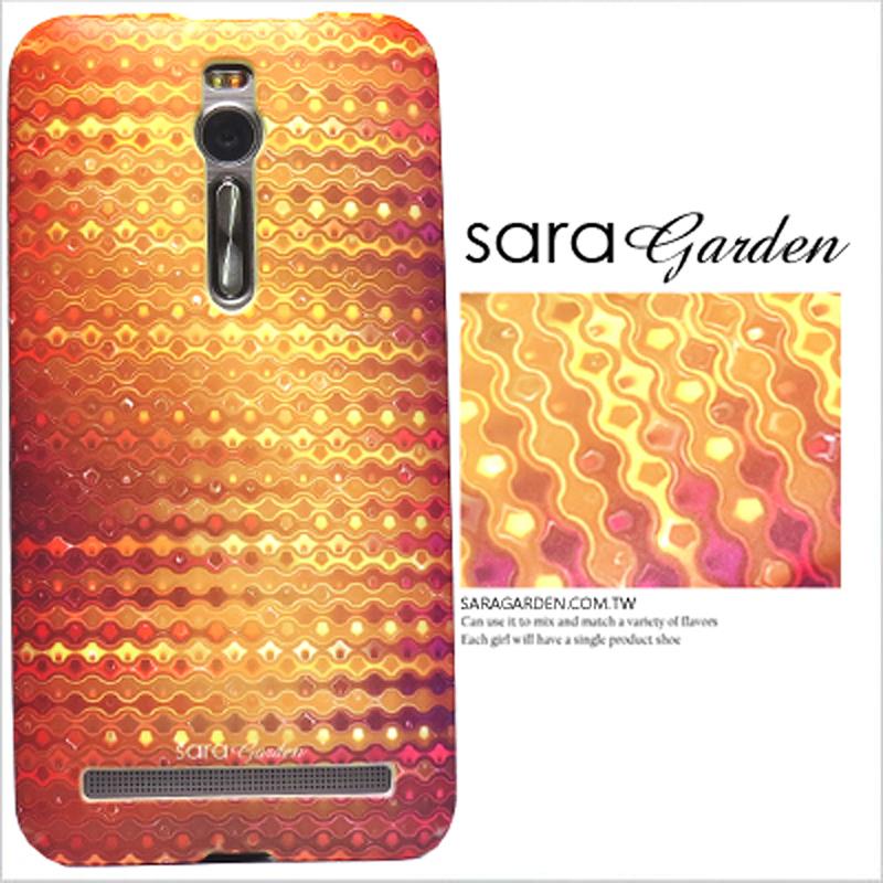 【Sara Garden】客製化 手機殼 ASUS 華碩 Zenfone2 5.5吋 ZE551ML 漸層 輝煌 氣泡 保護殼 硬殼 限定