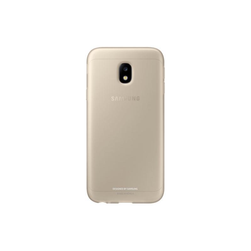 SAMSUNG J3 Pro薄型透明背蓋TPU 金色