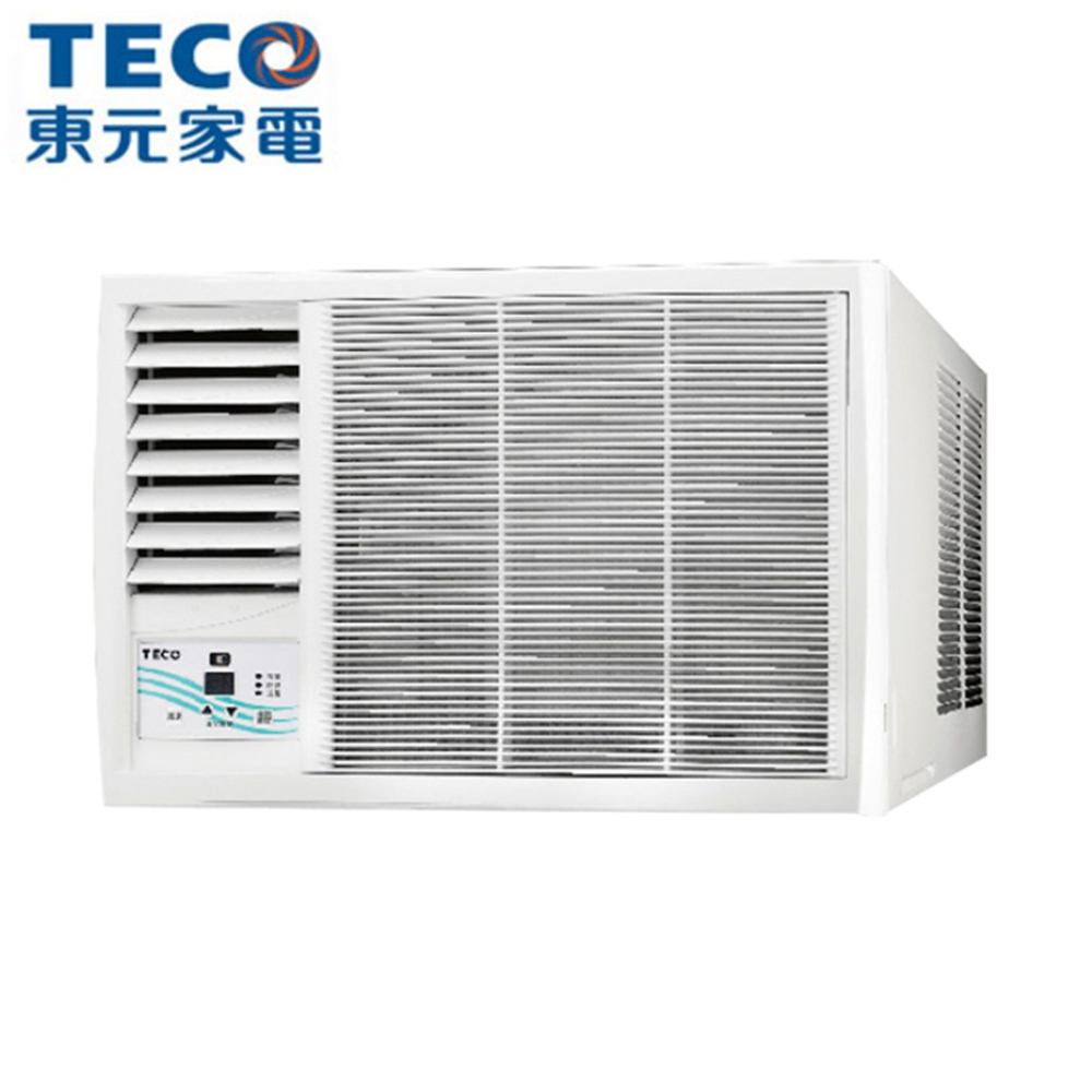 【TECO 東元】5-6坪窗型定頻左吹冷氣 MW25FL1