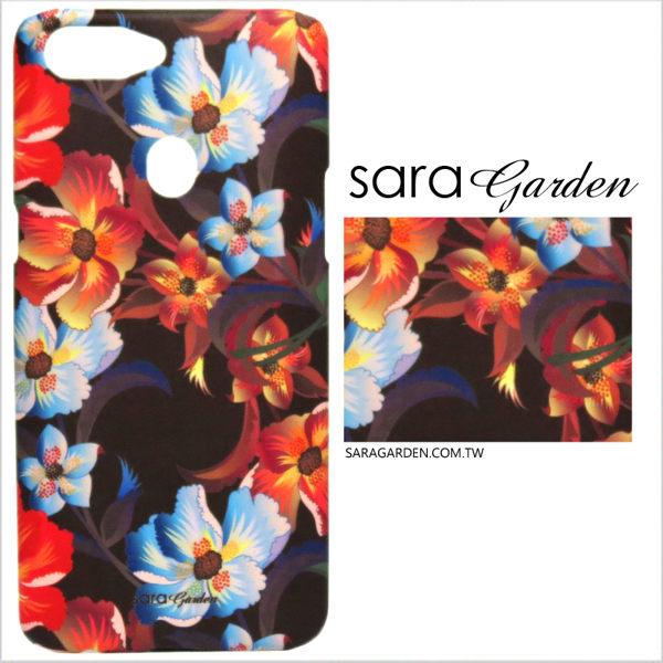 【Sara Garden】客製化 手機殼 OPPO R11 r11 保護殼 硬殼 洋甘菊碎花