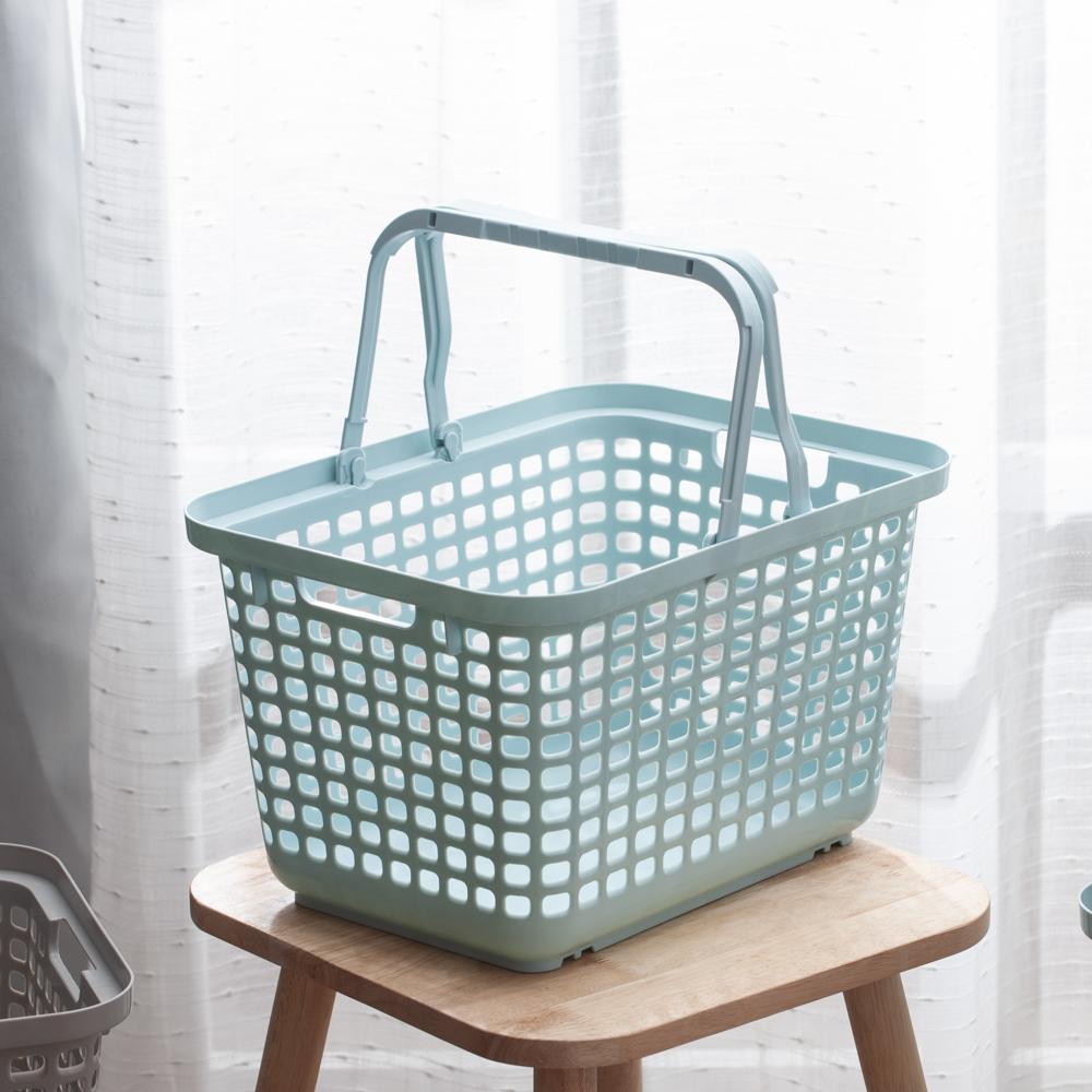 Clean多功能汙衣籃S-清新藍-生活工場