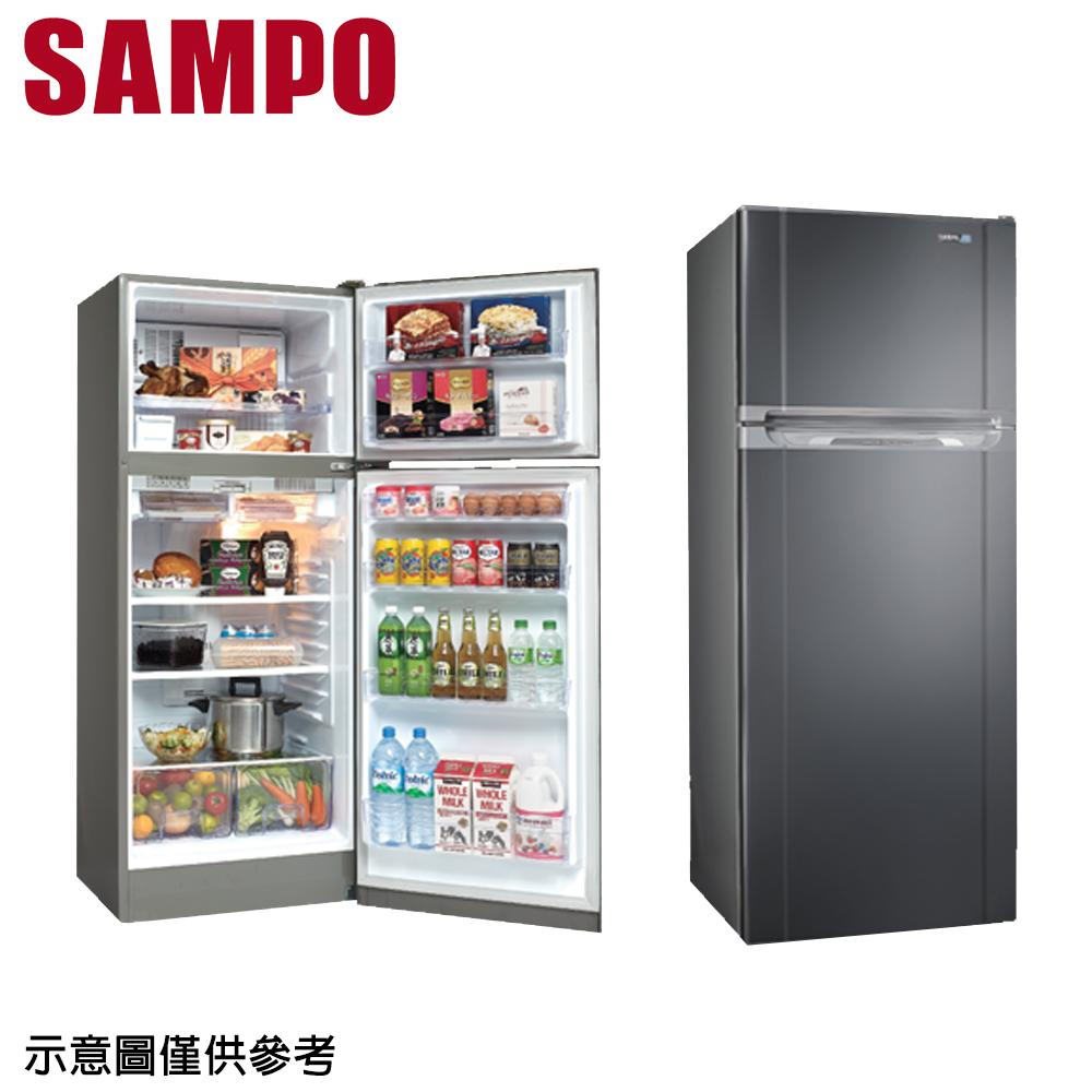 【SAMPO聲寶】340公升變頻雙門冰箱SR-A34D(S3)