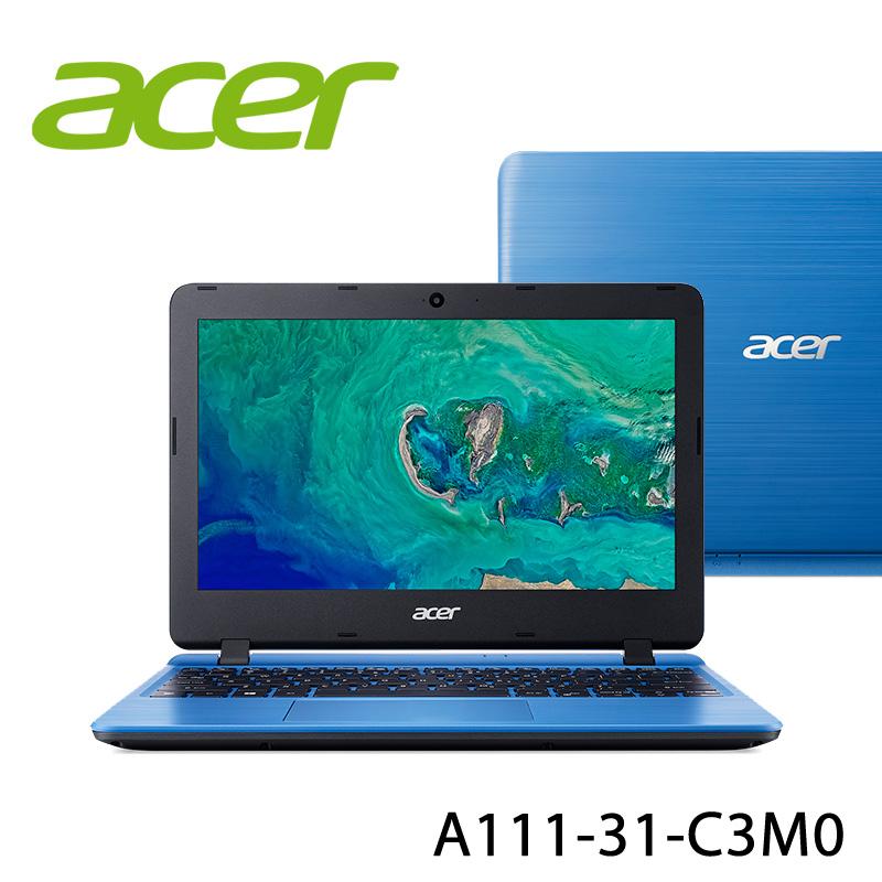 【ACER宏碁】A111-31-C3M0 藍色 11.6吋 筆電(N4000/4G/64G)-送美國OSTER 隨行杯果汁機 90th紀念款+無線滑鼠