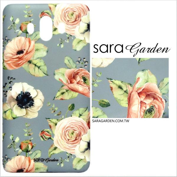 【Sara Garden】客製化 手機殼 OPPO R11S r11S 保護殼 清新罌粟花