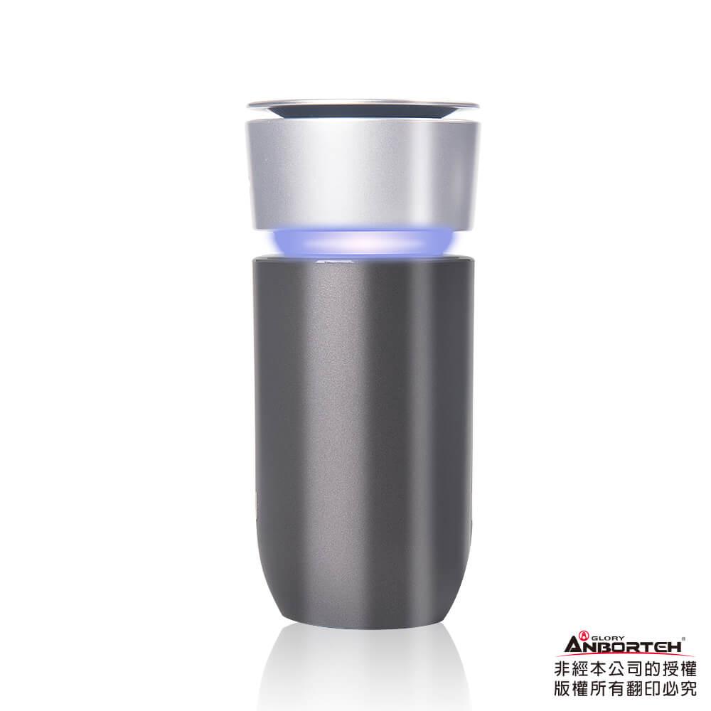 【安伯特】神波源 炫彩空氣清淨機 USB充電 負離子淨化