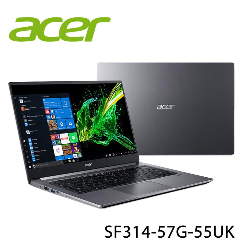 【ACER宏碁】Swift 3 SF314-57G-55UK 灰 14吋 筆電