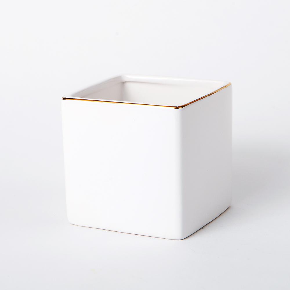 原味生活方型花瓶H10-生活工場