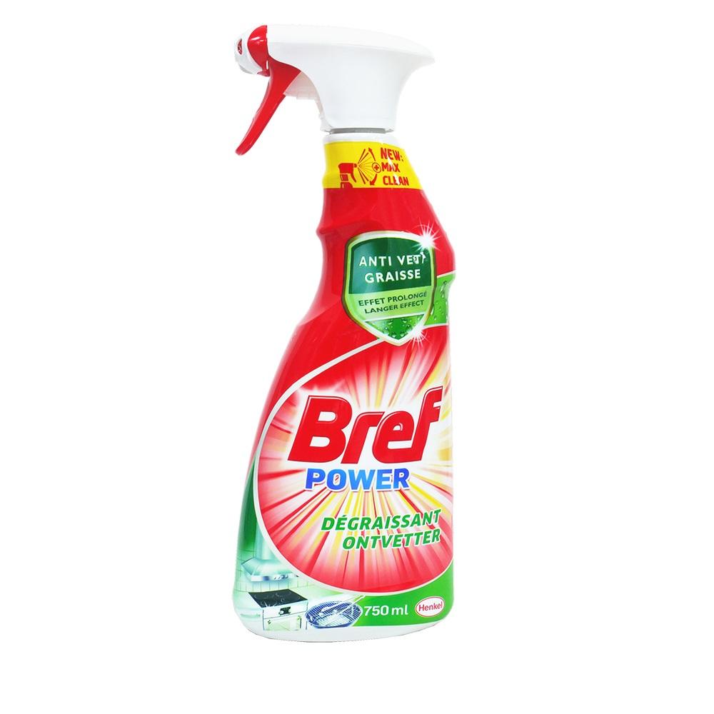 德國Bref廚房油污清潔噴霧劑750mlx3入