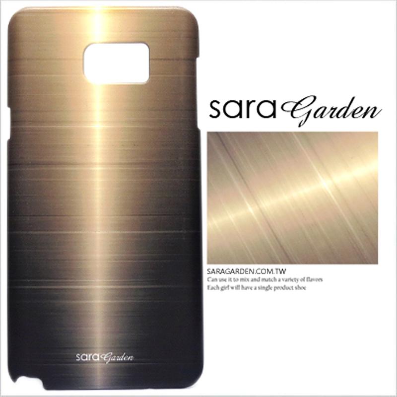 【Sara Garden】客製化 手機殼 HTC M8 質感 拉絲 紋路 保護殼 硬殼 限定
