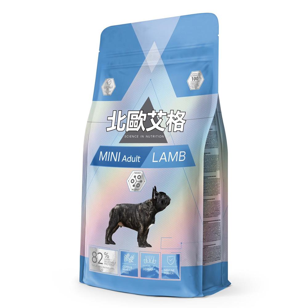 北歐艾格 小型成犬專用-羊肉配方 1.8kg