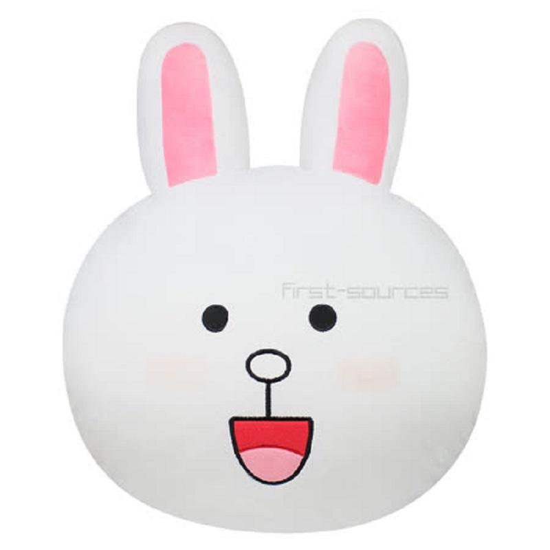 ★台灣製造★ Line 多功能車用抱枕 (兔兔) LN-14111