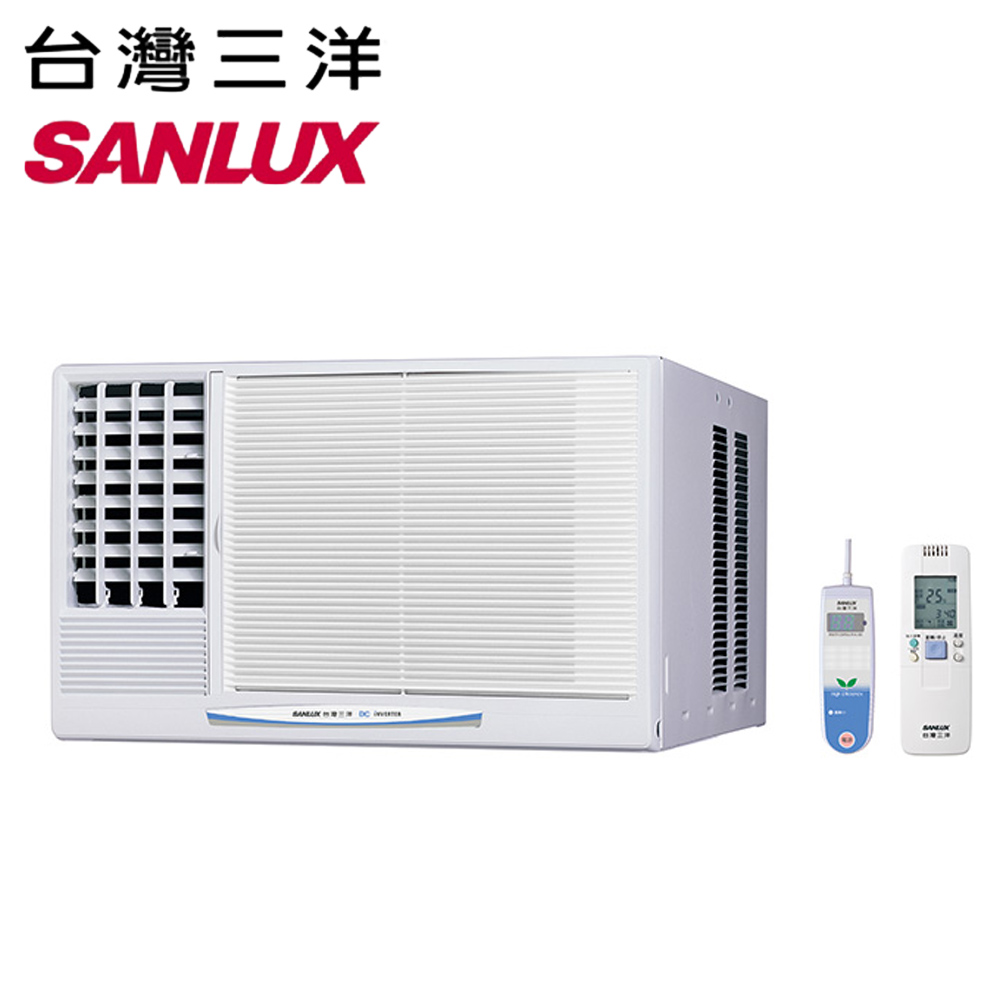 【SANLUX三洋】4-6坪變頻左吹冷專窗型冷氣SA-L28VE