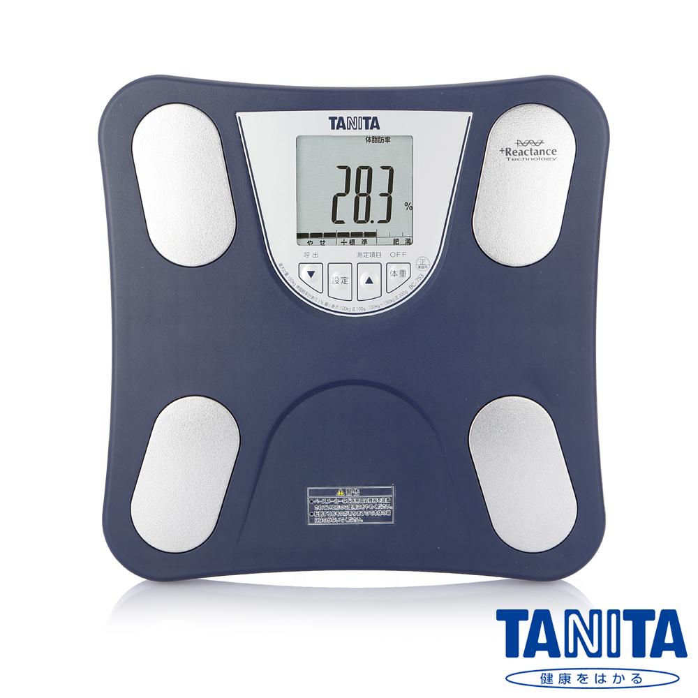 【日本TANITA】四合一體組成計BC753-海軍藍