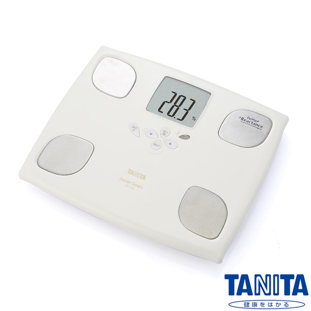 【日本TANITA】十合一女性減重模式體組成計BC750-珍珠白
