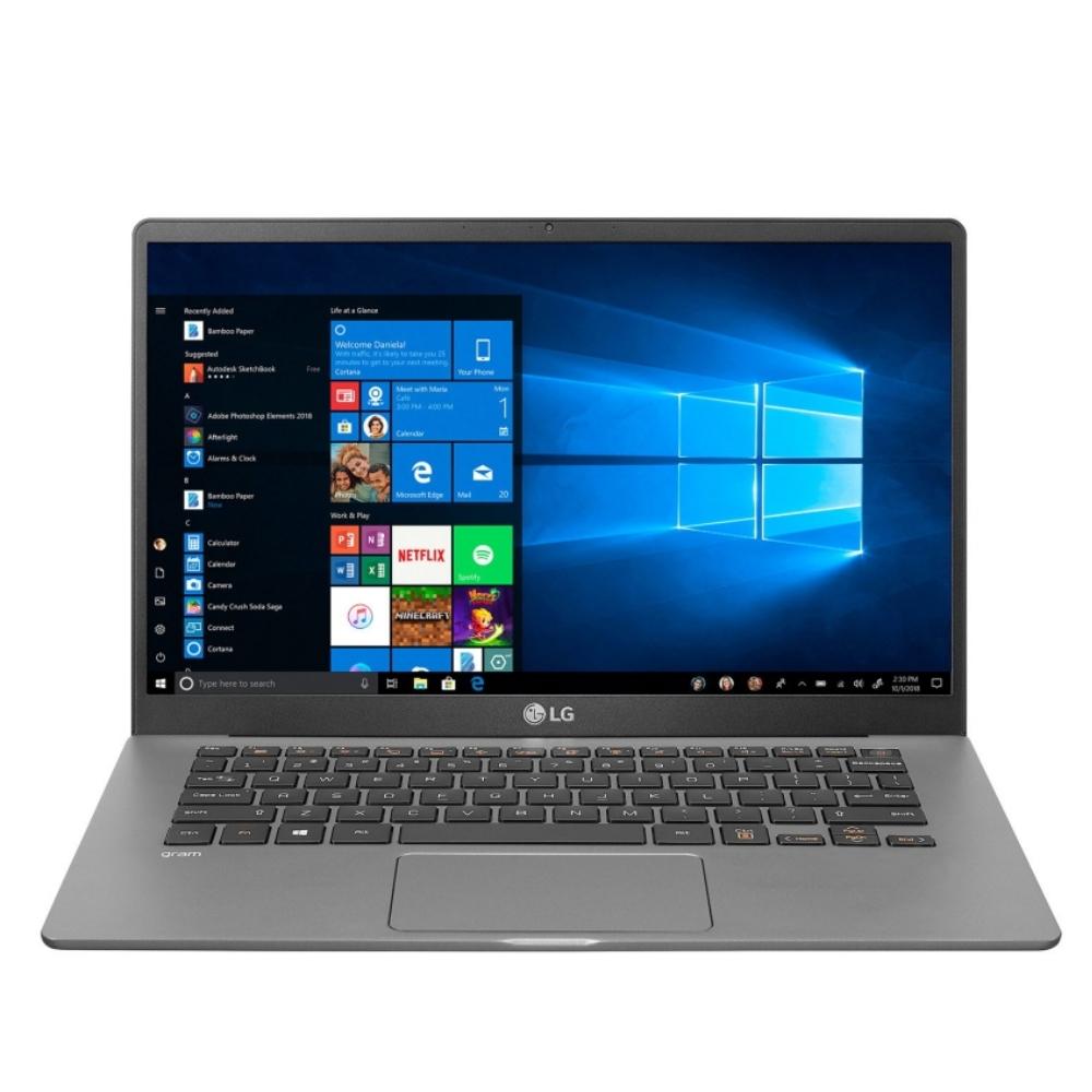 LG Gram銀輕薄14吋i5-1035G7/8G/256G SSD/14吋/W10-PRO/含原廠鍵盤膜筆電14Z90N-V.AP52C2