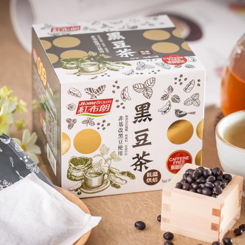 【紅布朗】黑豆茶 (15g*10包)X3盒