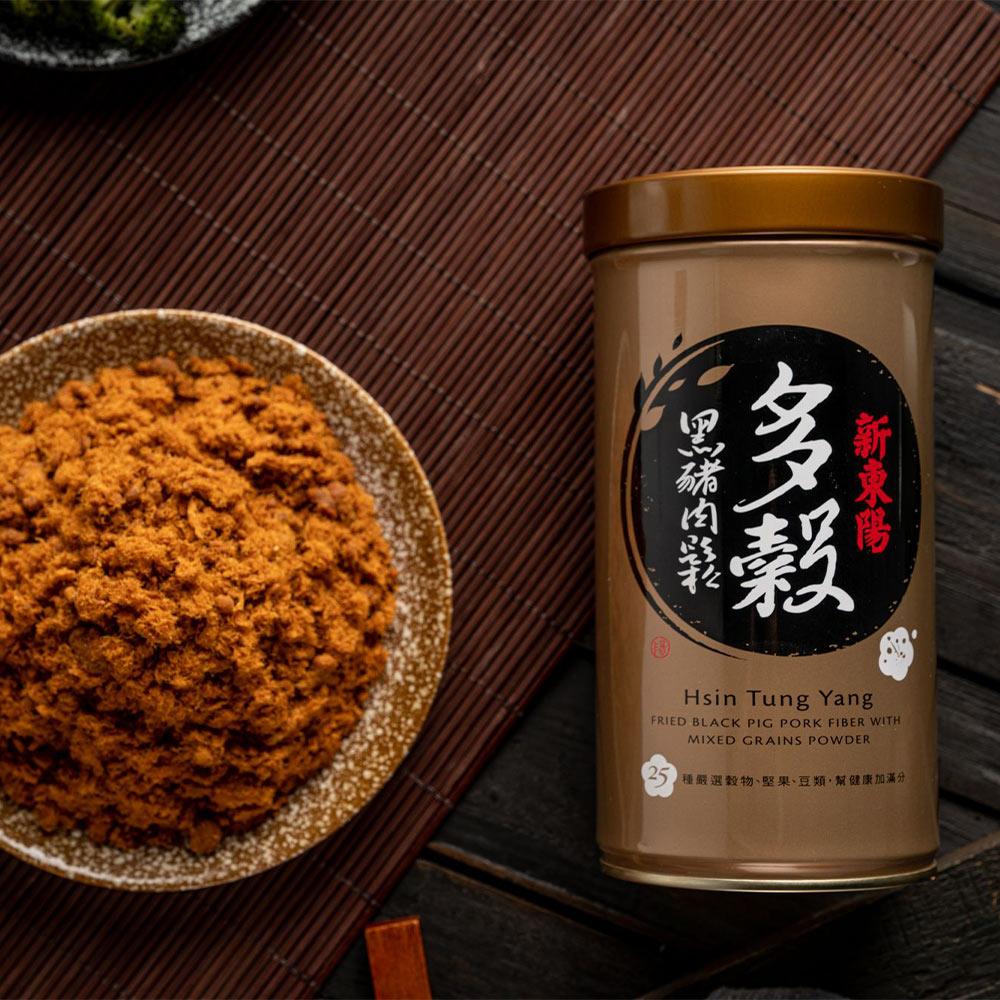 【新東陽】多榖黑豬肉鬆 (255g*2罐)